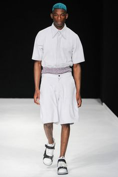 Christopher Shannon   Spring 2014 Menswear Collection   Style.com