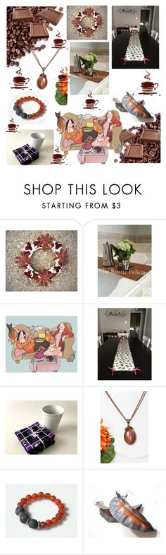 """""""Coffee with chocolate."""" by lwitsa62 ❤ liked on Polyvore featuring interior, interiors, interior design, home, home decor and interior decorating"""