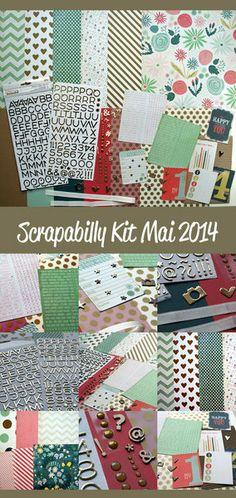 Scrapabilly Kit Mai 2014