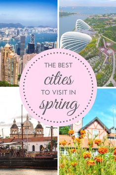 The best family friendly city destinations to visit in springtime. Including cities in Europe, the Americas, Africa, Asia and Oceania. #travel inspiration #family travel #spring destinations | spring destinations Europe | spring destinations North America | family travel | travel inspiration | travel #FamilyDestination #asiadestinations #africatravel