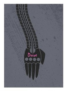 Drive (2011) ~ Minimal Movie Poster by David Peacock