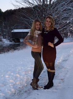 Britt pent and Chloe<3