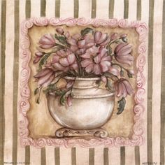 Pink Ladies I Art Print