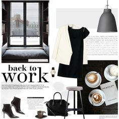 Back to work by little-bumblebee on Polyvore featuring Elizabeth and James, Jimmy Choo, Givenchy, ASA and Lightyears