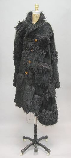 Comme des Garçons  (Japanese, founded 1969)  Date: fall/winter 2002–3 Culture: Japanese Medium: faux fur, wool