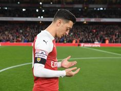 I am still young, I am In football, everything is possible but I am really happy to play for a big club like Arsenal. I just enjoy it and I can imagine finishing my career at Arsenal. Arsenal News, Arsenal Players, Arsenal Fc, Ozil Mesut, Messi And Ronaldo, Very Tired, Great Team, Sports Pictures, Videos Funny