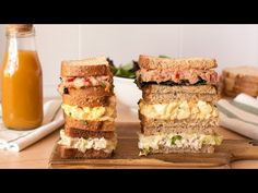 3 Ideas of Cold Sandwiches (Chicken Homemade Frappuccino, Frappuccino Recipe, Berry Smoothie Recipe, Easy Smoothie Recipes, Coconut Milk Smoothie, Cold Sandwiches, Grilled Fruit, Cookout Food, Chicken Sandwich