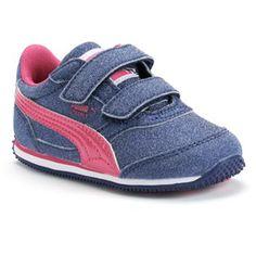 PUMA Steeple Glitz AOG V Toddler Girls' Athletic Shoes