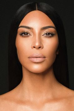 Kim Kardashian is launching her own makeup line and it is not in collaboration with Kiley Jenner... see where you can get the notification for when it will officially drop..