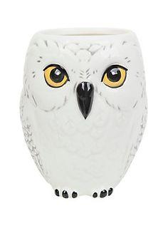 Morning coffee with Hedwig // Harry Potter Hedwig Ceramic Mug