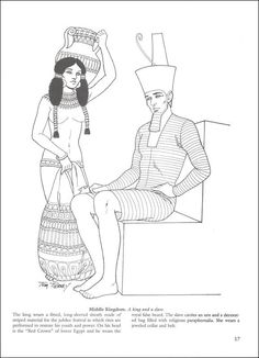 Ancient Egyptian Fashions tom tierney - Pesquisa Google