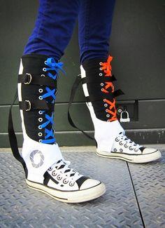 mens knee high converse sneakers, OFF