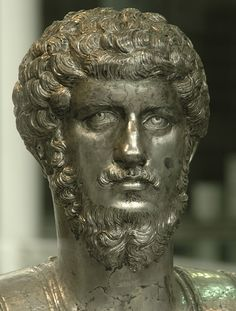 Portrait bust of Lucius Verus from Marengo. Silver. 150—160s A.D. Turin, Museum of Antiquities. Photo by S. Sosnovskiy.