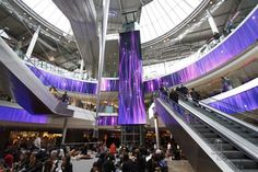 We at movingdesign are delighted to announce our winning of the prestigious DailyDOOH 'Best Overall Retail Experience' award 2014 for The Digital Dream in Paris. The giant, curved LED display – Europe's biggest indoor, high-resolution LED display – has been turning heads since September last year. And the 46 million plus shoppers who visit Les Quatre Temps each year love it. As do the Digital Out-of-Home experts. Won in collaboration with the AV integrator Barco and Giglam, our award ...