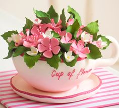 Mother's Day Cake -For all your cake decorating supplies, please visit Craftcompany.co.uk