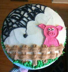 Charlotts web cake