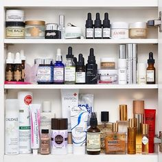 Want to be featured on Into The Gloss' #ITGTopShelfie series? Use Pinterest to envision your ideal medicine cabinet, and you'll be one step closer