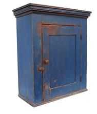 R71 Pennsylvania hanging Cupboard circa 1830