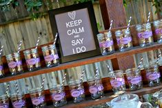vineyard themed bridal shower- just want to remember the sign! Love it :)