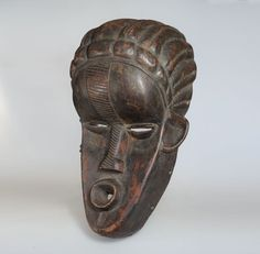 Initiation Mask - Bassa - Liberia Liberia, Ivoire, Helmet, Lion Sculpture, African, Statue, Ebay, Google, Hockey Helmet