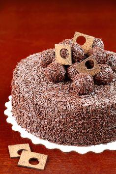 """Verdade de sabor: Бразильский торт """"Brigadeiro"""" / Bolo Brigadeiro"""