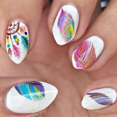 Dream Catcher Nails by Anna S