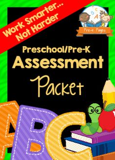 Student Assessment Packet - Pre-K Pages