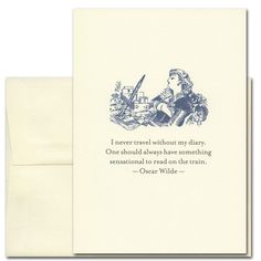 Saturn Press's Letter Press Cards are fabulous.