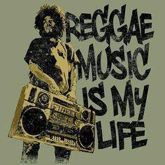 Reggae Music is my life Reggae Style, Reggae Music, Bob Marley, Music Love, Music Is Life, Rasta Girl, Rasta Man, Rastafarian Culture, Jah Rastafari