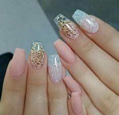 12 Nail Design & Art Ideas For Women 2019 - Trending Beauty Artist Work - Katty Glamour Fabulous Nails, Gorgeous Nails, Love Nails, Stylish Nails, Trendy Nails, Luxury Nails, Beautiful Nail Designs, Swag Nails, Nails Inspiration