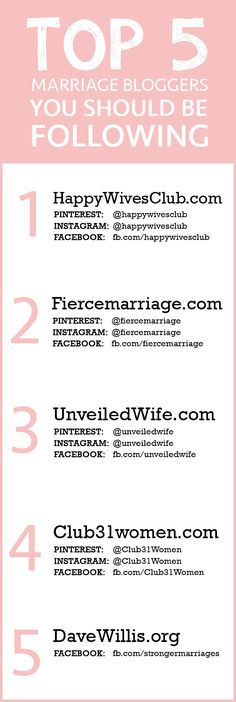 relationship/marriage bloggers that rock!