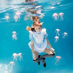 watet  Alice  jellyfish  クラゲ