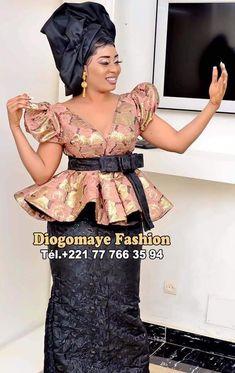 Short African Dresses, African Blouses, Latest African Fashion Dresses, African Print Fashion, Ankara Skirt And Blouse, Ankara Dress Styles, African Hair Wrap, African Print Dress Designs, Ankara Styles For Women