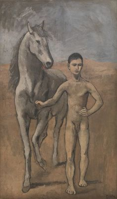 Boy Leading a Horse (Pablo Picasso, 1905-06, MOMA, New York)