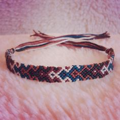 Handmade Embroidery Floss Friendship Bracelet by Rebecca Deras, $9.00