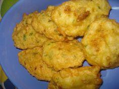 Pataniscas de Bacalhau na Bimby - Receitas Bimby Cod Fish, Some Recipe, Carne, Cauliflower, Recipies, Food And Drink, Vegetables, Eat, Cooking