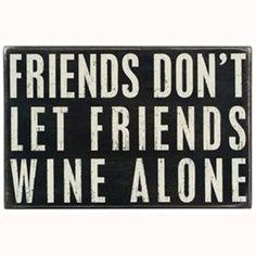 True friends ...
