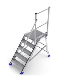 Escalier Échelle Support Stabilisateur Escabeaux à Plate-Forme Cage D/'Escalier