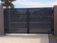 Slats Aluminum Gate