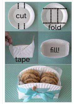 Cute homemade party favor idea!