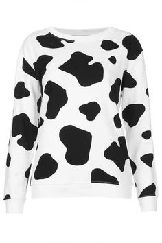 TOPSHOP - White Classic Sweater By Illustrated People - Lyst c513a5bb1