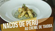 Receita de Natal: Nacos de Peru Ao Creme de Taioba - Chef Kaka Padula