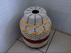 Capa para Botijão de Gás em Crochê # Luiza de Lugh - YouTube