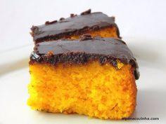 Aquele bolo de cenoura com calda de chocolate.