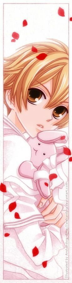 OMG Honey-sempai from OHSHC. He looks adorable and cute!