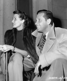 William Holden and wife Ardis (Brenda Marshall)