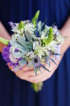 Colorado Wedding ~ pretty natural bridesmaid's bouquet ~ Photography by Jenna Walker Photography / Floral Design by Plum Sage Flowers