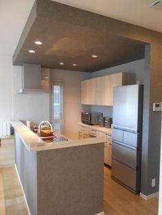 Kitchen Dinning Room, Glass Kitchen, Kitchen Decor, Small House Interior Design, Interior Design Living Room, House Design, Japan Interior, Modern Minimalist Bedroom, Ideas Geniales