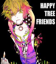 Imagen de happy tree friends, anime, and nutty