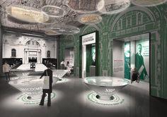 concorso moneta   Architetti associati Migliore + Servetto Milano – exhibition, interior design, grafica e architettura